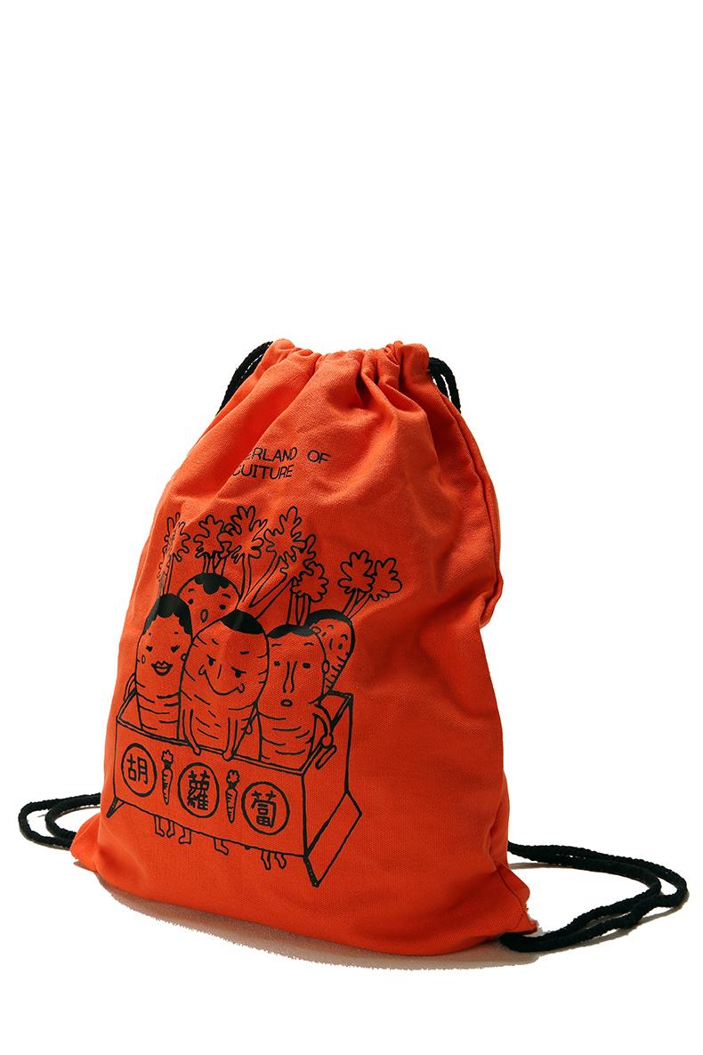棉帆布朿口背包袋 編號: CS-CB0001